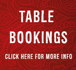 Table Bookings